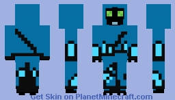 Cloaked Big Chill Omniverse Minecraft Skin