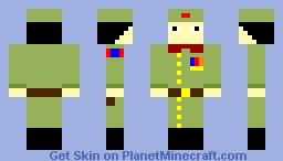 Mongolian Soldier WW2 Minecraft Skin