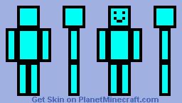 Optimistic Colors ~ Blue Minecraft Skin