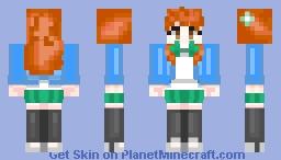 Zenix's Mimori of the Shadowverse  in four pixel form Minecraft Skin