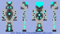 Moon Crash Spaceman Skin Minecraft Skin