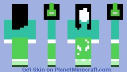 no faced gamer girl Minecraft Skin