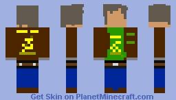Farm Worker (John Deere) Minecraft Skin