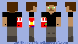 Brandon Harris in infinity gauntlet. Minecraft Skin