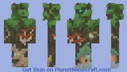 Keeper of Fairy Secrets | Spellbound Garden Minecraft Skin
