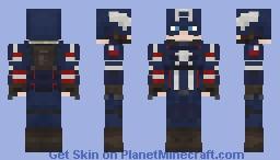 Captain America (A-Day) Minecraft Skin