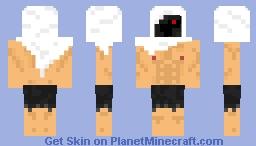 Hooded Maniac Minecraft Skin