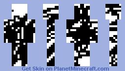cool black stripes Minecraft Skin