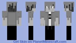 Monochrome Colour Splash Minecraft Skin