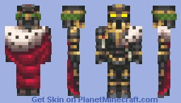 Holy Lazarus II The Holy Imperator of the NGO Minecraft Skin