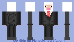 sheep in suit Minecraft Skin