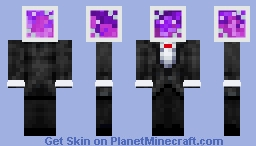 universe in a jar Minecraft Skin