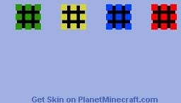 3D Rubik's Cube Minecraft Skin