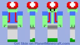 Toadle - Spellground Garden Event Minecraft Skin