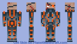 Neon Hunter Minecraft Skin