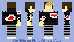 Sparkle hand Minecraft Skin