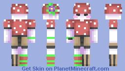 Mushroom Kid Minecraft Skin