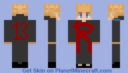 houston rockets boy Minecraft Skin
