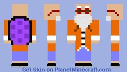 MASTERROSHI (dragonball, dragonballZ, dragonballsuper) Minecraft Skin