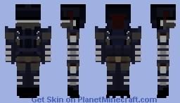 Police Unit BU1-lk Minecraft Skin
