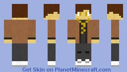 Classic GoldBoy Minecraft Skin