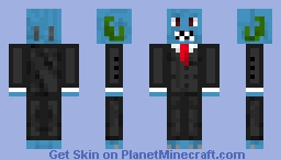 Rare Fish Salesman Minecraft Skin