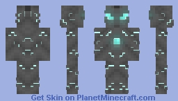 Stupidly Generic Robot (tm) Minecraft Skin