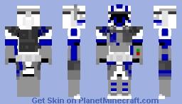 Star Wars: 501st Clone ARC Trooper ARC-21-0408 'Echo' Phase I Minecraft Skin