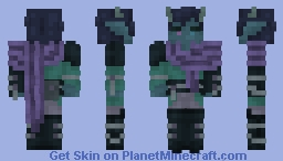 Wanderer of Another World Minecraft Skin