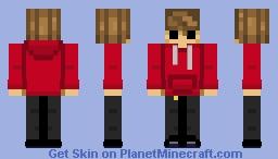 OC - Nat (Nathan) Minecraft Skin