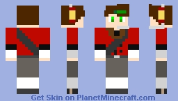 Team Fortress 2 scout Heaphones customize in planetminecraft Minecraft Skin
