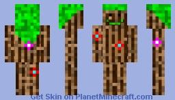 tree golem Minecraft Skin