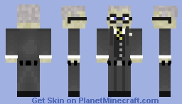 Carl Jung Minecraft Skin