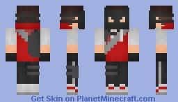 Shading of Smoke Elite based off of Dakota's skin (ref in desc) Minecraft Skin