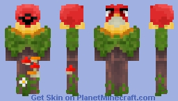 AngryBird, Stop Deforestation! (NatureVSMechanical) Minecraft Skin
