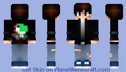 Arcade Gamer Yoshi Jacket Minecraft Skin