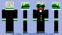 Hans Hermann Hoppe (Pepe the Frog) Minecraft Skin