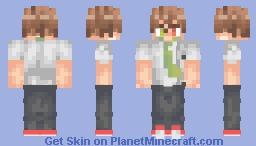 Hajime Hinata Minecraft Skin
