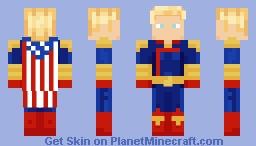 Homelander (The Boys) Minecraft Skin
