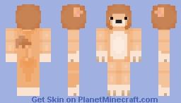cute lion ! Minecraft Skin