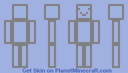 invizible Minecraft Skin