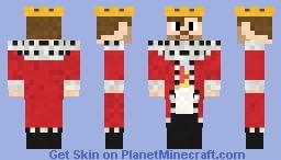Cadency king Minecraft Skin