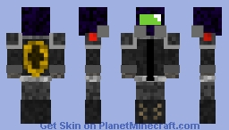 GRS: Gas Resistant Suit Minecraft Skin