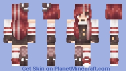 Lady in Red Minecraft Skin