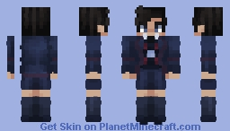 number 5 umbrella academy Minecraft Skin