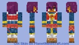 Prince Soma Asman Kadar (Black butler/Kuroshitsuji) Minecraft Skin