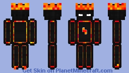 Phoenix Themed Zyl Skin Minecraft Skin