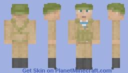 Soviet soldier in Afghanistan Minecraft Skin