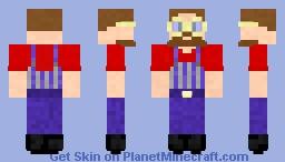 Matt the Train Conductor Minecraft Skin