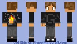 Brown Hair Male Minecraft Skin